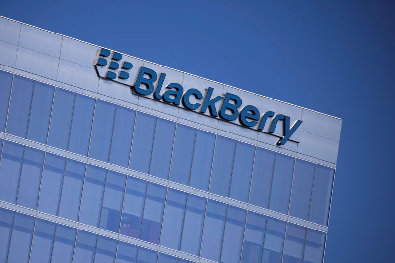 BlackBerry says unaware of reason for stock price surge