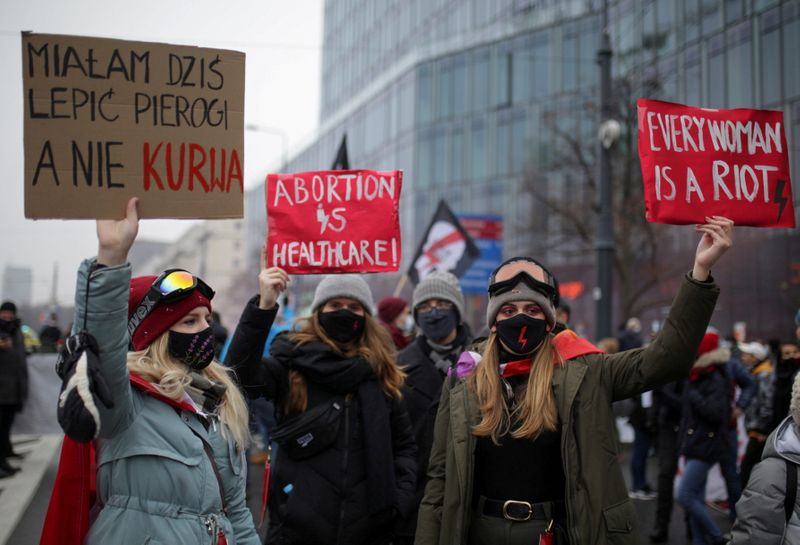 Poland puts into effect new restrictions on abortion