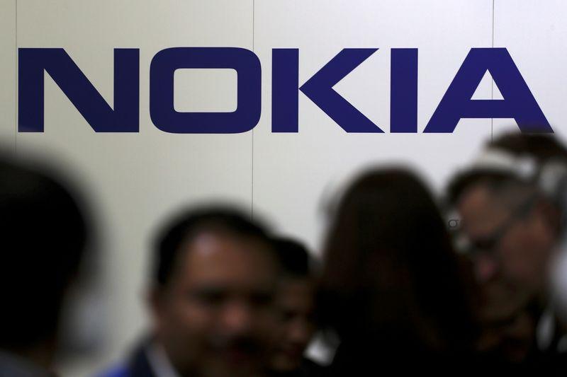 © Reuters. NOKIA DIT NE PAS AVOIR D'EXPLICATION À SON ENVOLÉE EN BOURSE