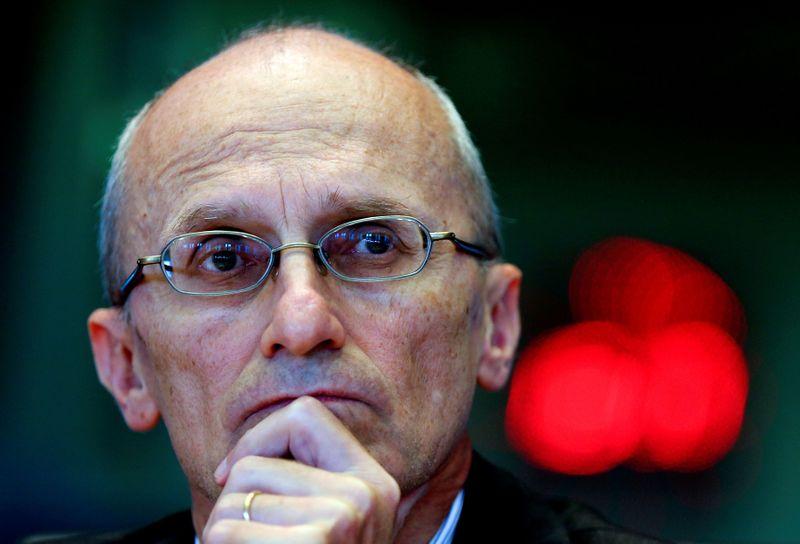 © Reuters. Andrea Ernia, presidente dell'Autorità bancaria europea a Bruxelles