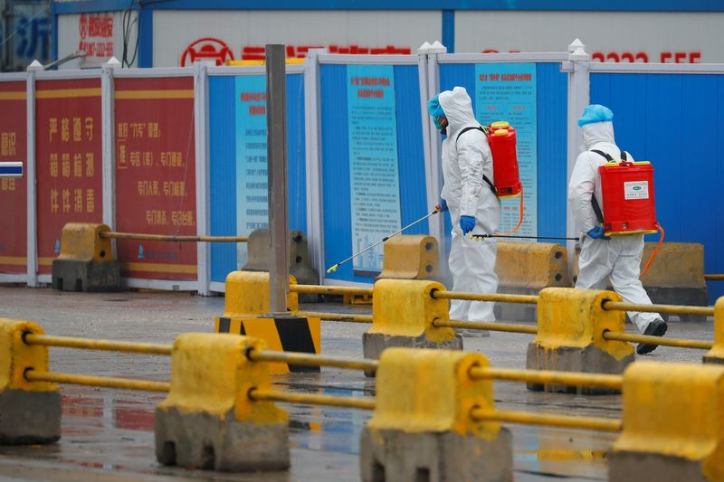 WHO team visits Wuhan market where first COVID infections detected