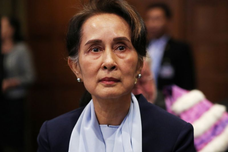 Aung San Suu Kyi: Myanmar's most famous political figure detained again By Reuters