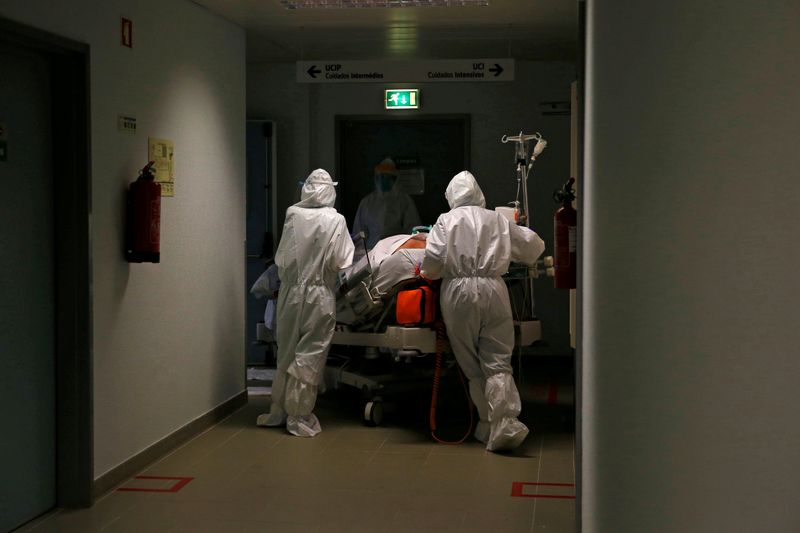 With pandemic worsening, Portugal reports nearly half of all COVID-19 deaths in January By Reuters