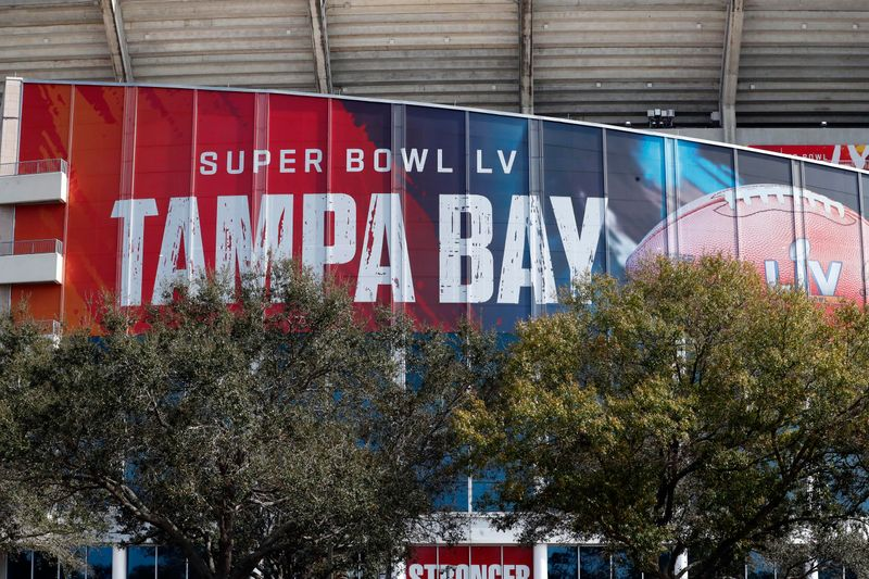 Super Bowl security officers prep for triple threat of pandemic, politics and hometown crowds