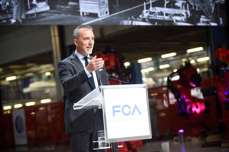 © Reuters. Il COO EMEA di Fiat Chrysler Pietro Gorlier a Torino