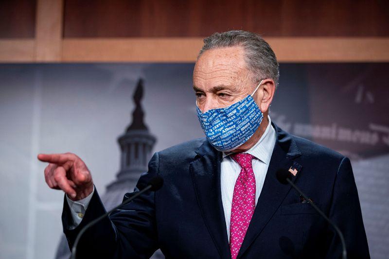 Democrats ready $1.9 trillion budget measure for COVID relief: Schumer
