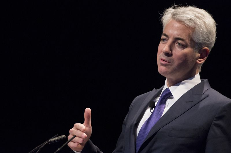 © Reuters. FILE PHOTO: William Ackman, founder and CEO of hedge fund Pershing Square Capital Management