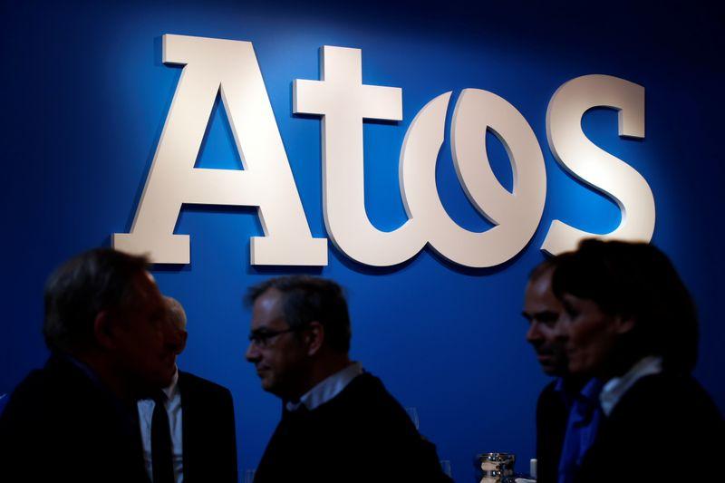 © Reuters. DXC TECHNOLOGY CONFIRME UNE OFFRE D'ATOS, ANNONCE L'ARRÊT DES DISCUSSIONS