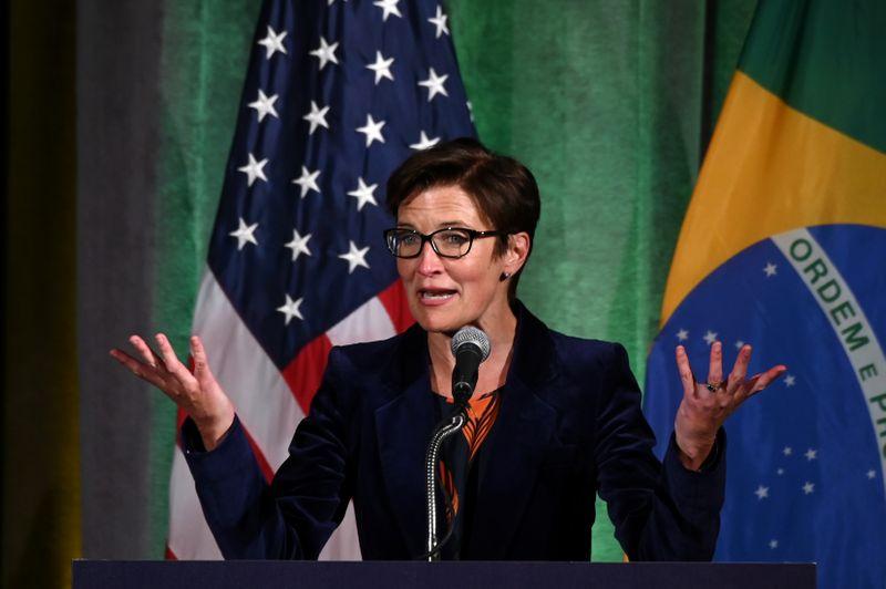 © Reuters. Citigroup Latin America CEO Fraser addresses Brazil-U.S. Business forum