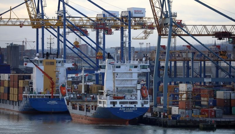 EU rebuffs UK demand to soften N.Ireland Brexit trade terms