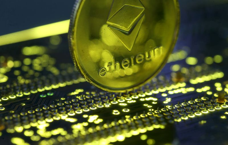 Cryptocurrency Ethereum hits record high ahead of CME futures launch