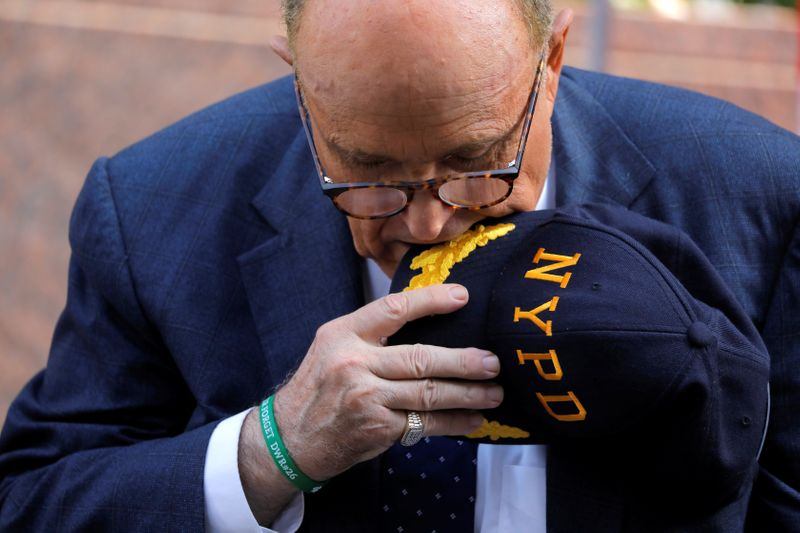 Smartmatic sues Fox News, Giuliani over election-rigging claims