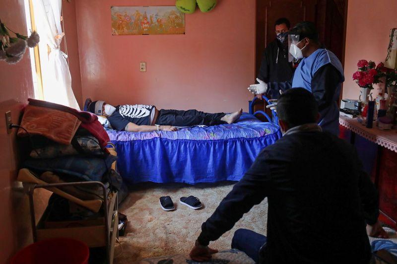 © Reuters. Outbreak of the coronavirus disease (COVID-19) in Iztapalapa