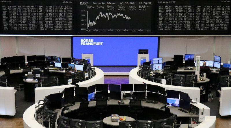 European shares rise on M&A activity; cyclical stocks lead