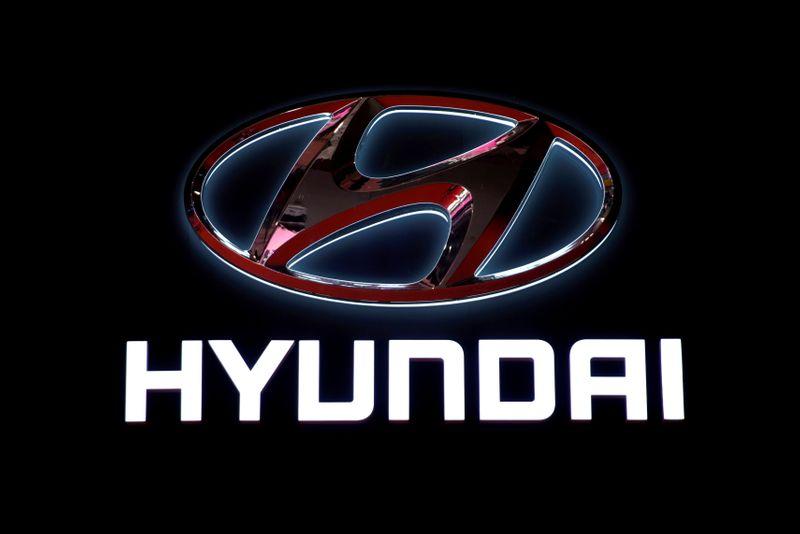 © Reuters. HYUNDAI DIT NE PAS DISCUTER AVEC APPLE DE VOITURES AUTONOMES ET CHUTE EN BOURSE