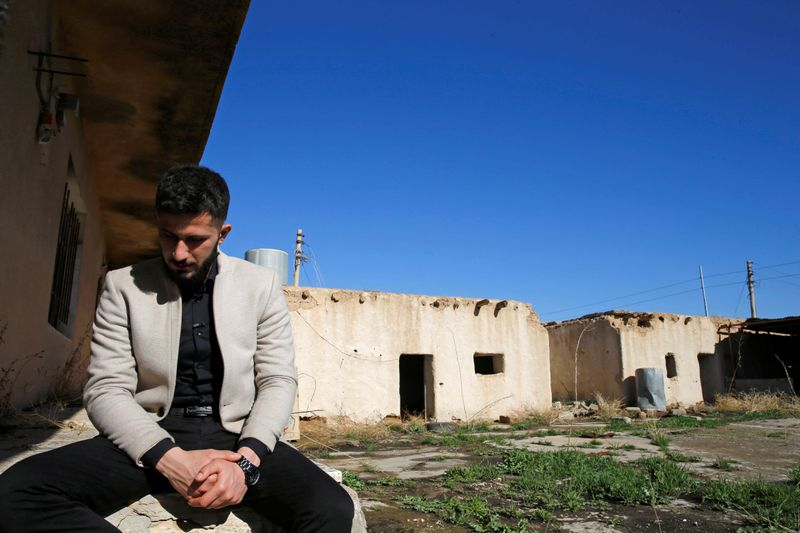 Seven years on, Yazidi survivor buries father slain by Islamic State