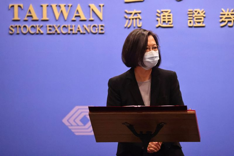 Taiwan wishes China happy new year, but says won't yield to pressure