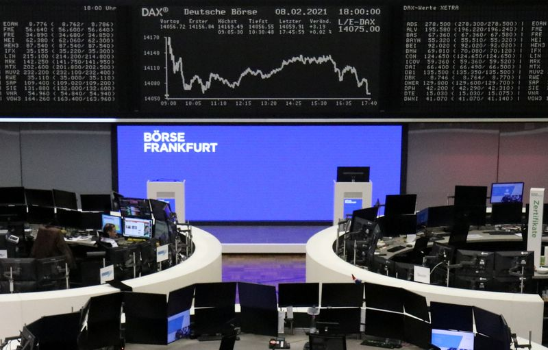 European shares dip after strong rally, Total rises