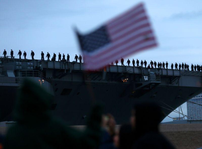 New hate symbols on U.S. warships including noose spark Navy condemnation