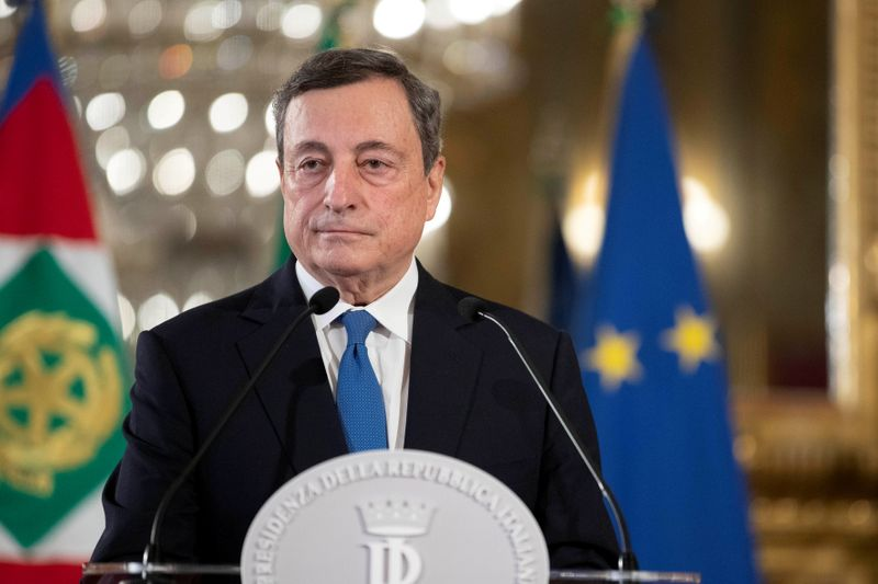Italy's 5-Star to ballot members after Draghi presents government agenda