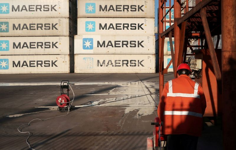 Maersk boosted by trade recovery, but misses forecasts