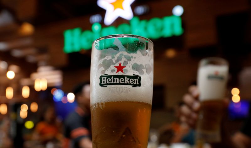 Heineken says cutting around 8,000 jobs in restructuring