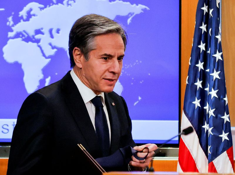 U.S. State Dept expects Blinken, Turkish foreign minister to chat, but says policy on S-400 unchanged