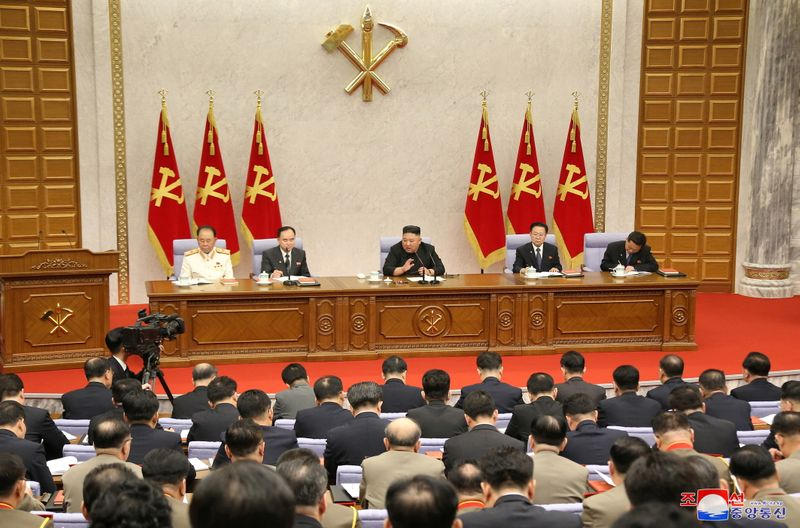 N.Korea's Kim calls for increased party role in economic plans: KCNA