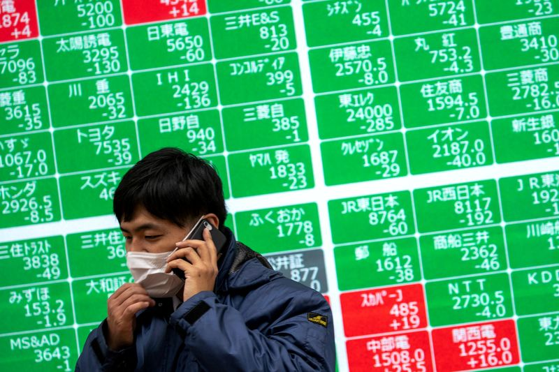 Global stocks nudge higher, sustained by bottomless stimulus