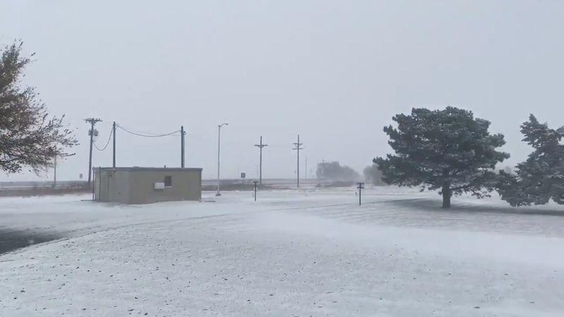 Six die in icy Texas pileup as frigid weather blankets much of U.S
