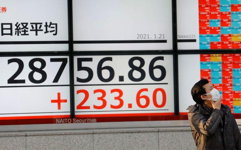 Asian stocks on hold for Lunar New Year, bitcoin eyes record highs