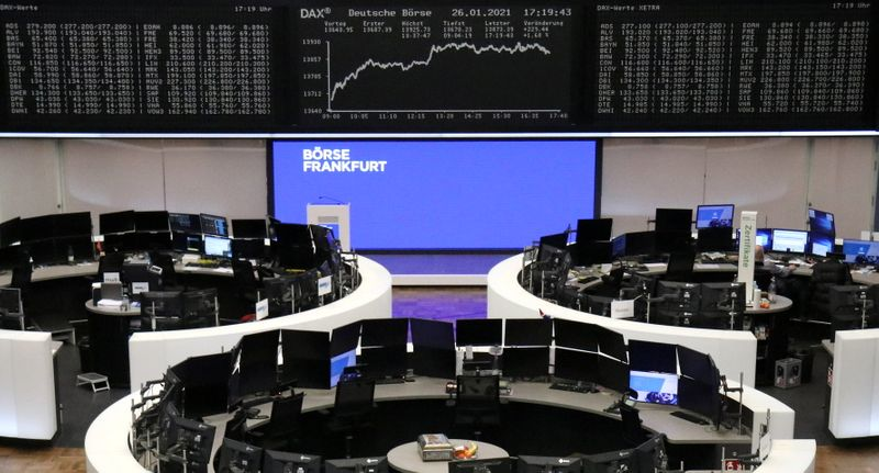European shares dip; ASML, ING among early gainers