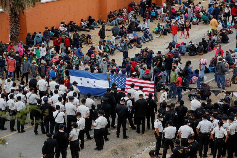Tough migration enforcement south of border key to Biden plans