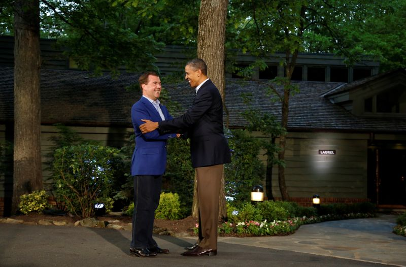 Biden makes first trip as U.S. president to rustic Camp David retreat