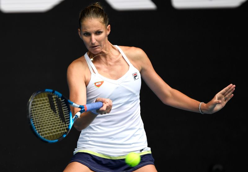 Pliskova points to ring rust as Czech exits in third round