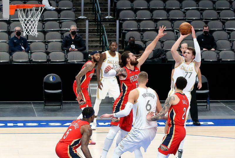 NBA roundup: Luka Doncic scores 46 in Mavs' win
