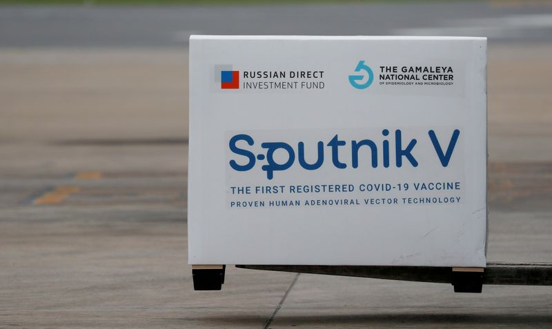 100,000 doses of Russia's Sputnik V vaccine arrive in Venezuela