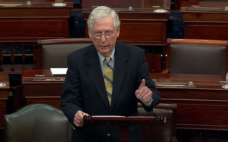 After not-guilty vote, McConnell says Trump 'morally responsible' for Capitol riot
