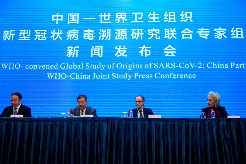 UK says it shares U.S. concerns over WHO COVID-19 mission to China