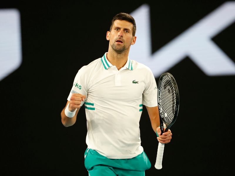 Djokovic answers fitness doubts with victory over Raonic