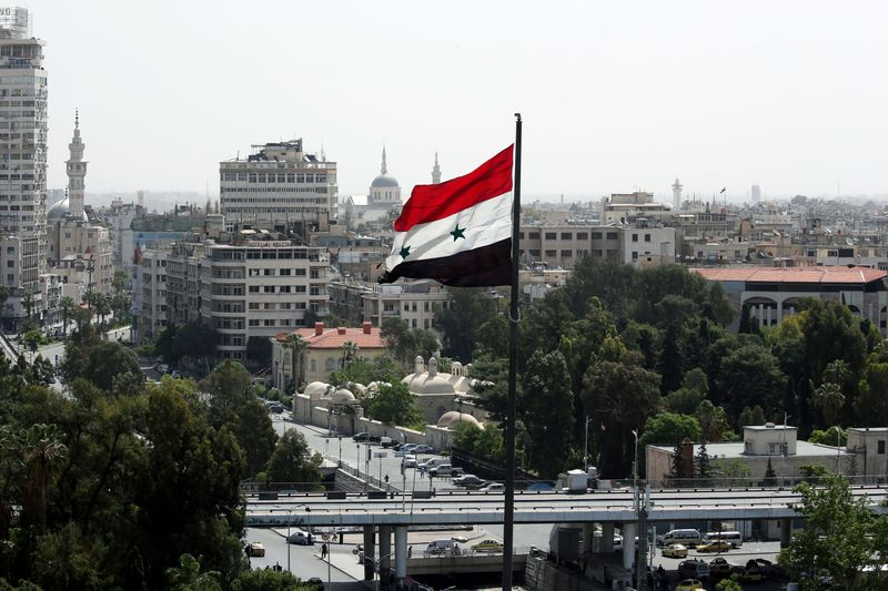 Syrian army says air defences intercepted 'Israeli aggression' over Damascus