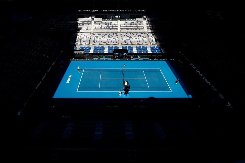 Tennis-Australian Open day eight