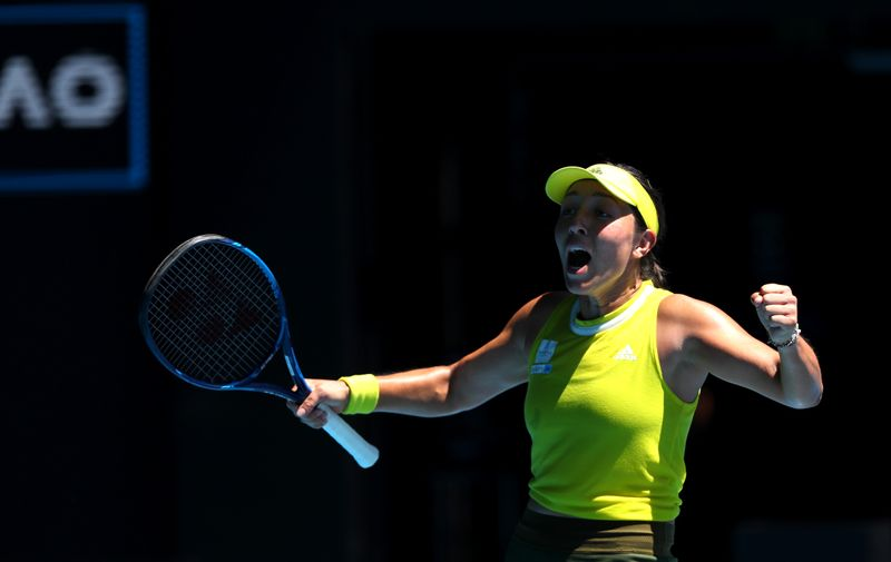 Pegula sets up all-American quarter-final at Australian Open