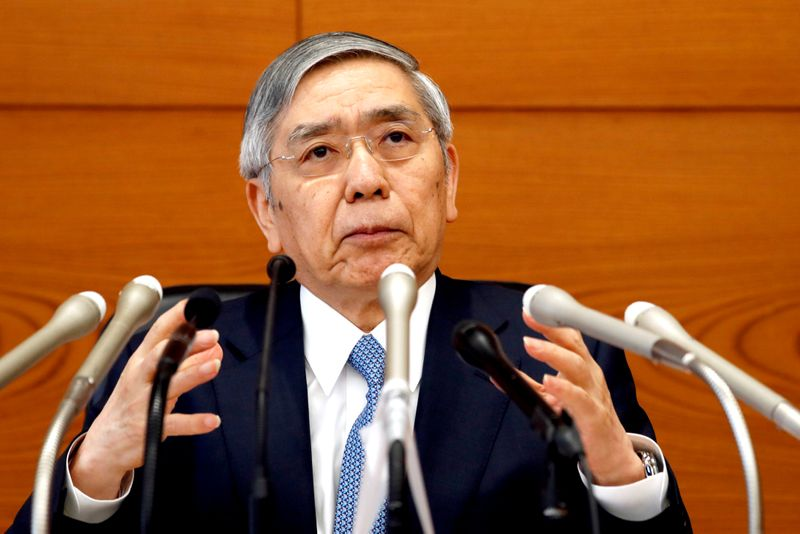 BOJ's Kuroda says no plan to 'permanently reduce' ETF buying