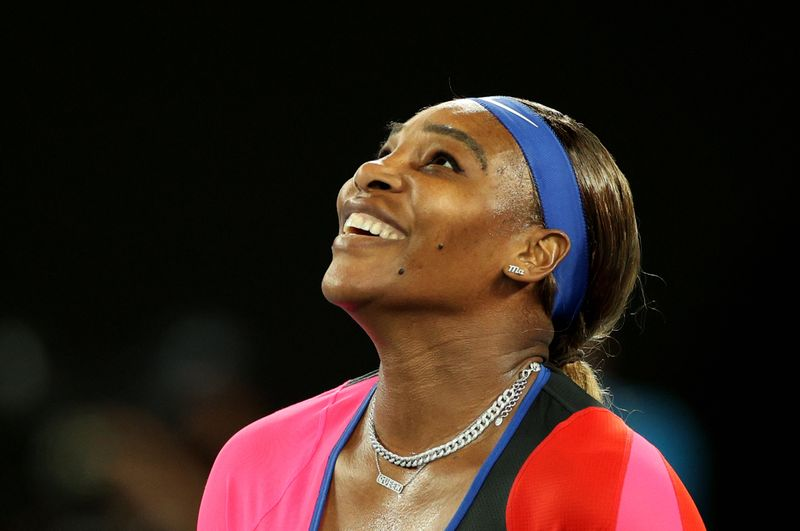 Serena comes through Halep test to reach semi-finals By Reuters