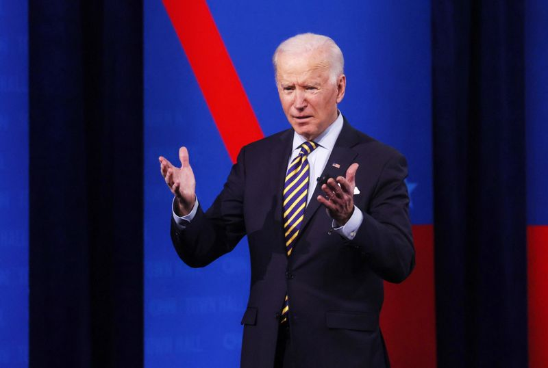 Biden says China to face repercussions on human rights