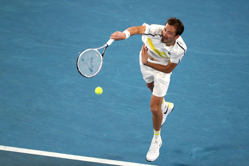 Medvedev sees off Tsitsipas to march into Australian Open final