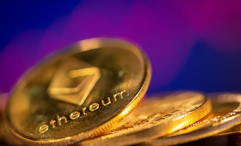 Bitcoin, ether hit fresh highs By Reuters
