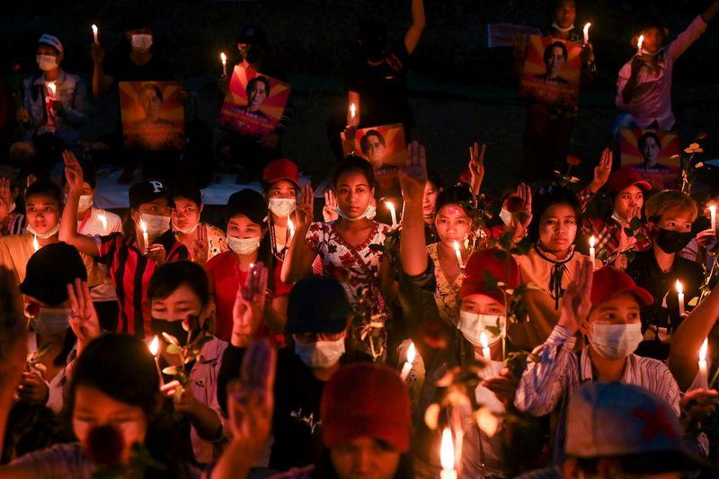 Strike grips Myanmar, anti-coup protesters defy junta's lethal warning