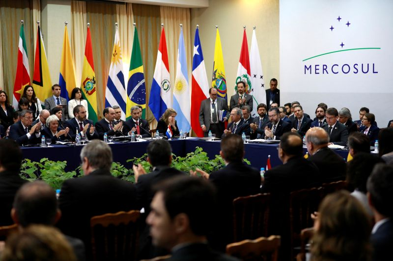 France says no chance at the moment of it signing Mercosur trade deal